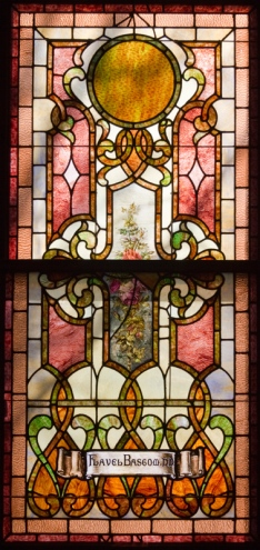 Flavel Bascom window