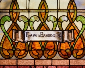 Flavel Bascom window detail
