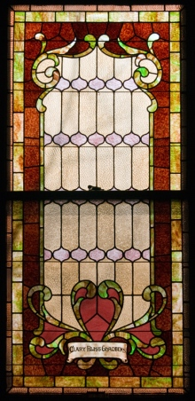 Mary Bliss Chamber window