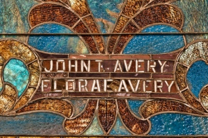 John and Flora Avery memorial window, Central Congregational Church, Galesburg, Illinois