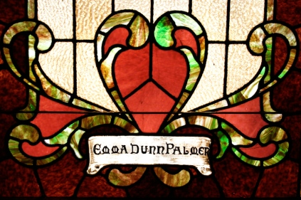 Palmer window detail