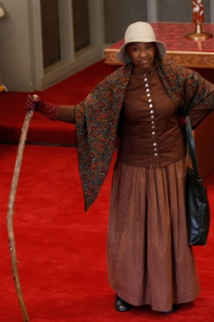 Kathryn Harris as Harriet Tubman