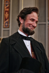 Michael Krebs as Abraham Lincoln